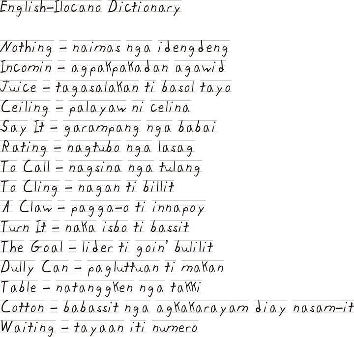 Ilocanos Will Understand Filipinolosophy