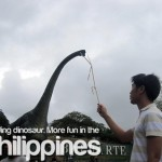 Feeding Dinos… More Fun in the Philippines