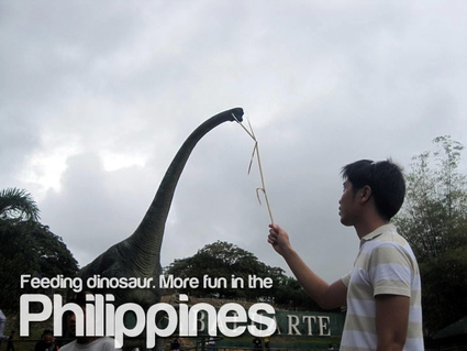 Dinosaurs More fun in the Philippines