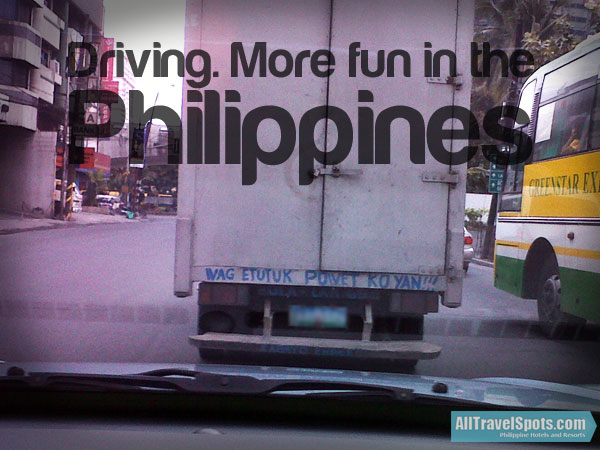 Driving More Fun in the Philippines