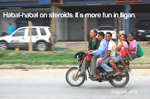 Habal Habal more fun in the Philippines