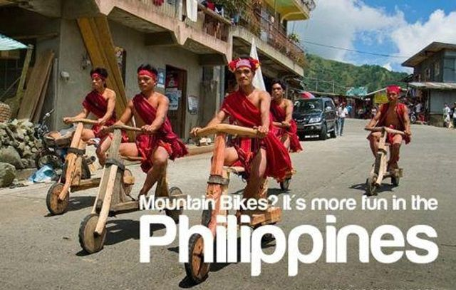 Mountain Bikes More Fun in the Philippines