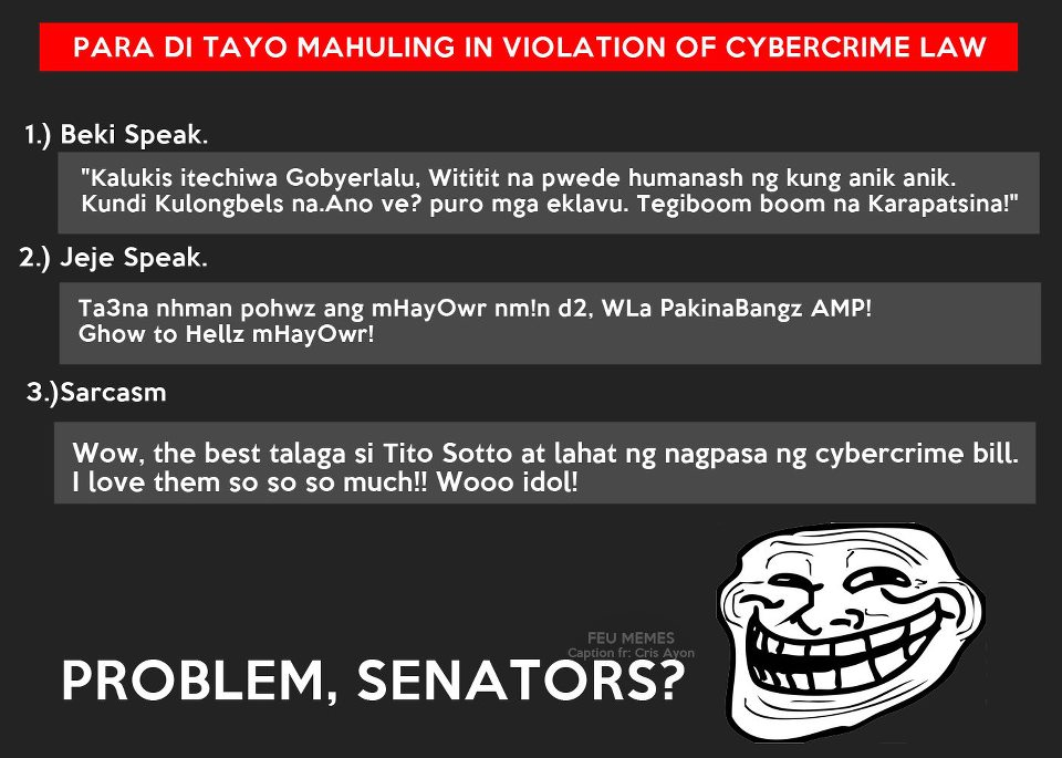 Cybercrime Law Joke
