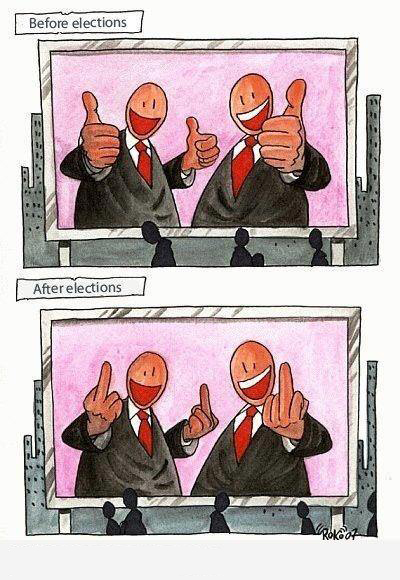 Before After Elections