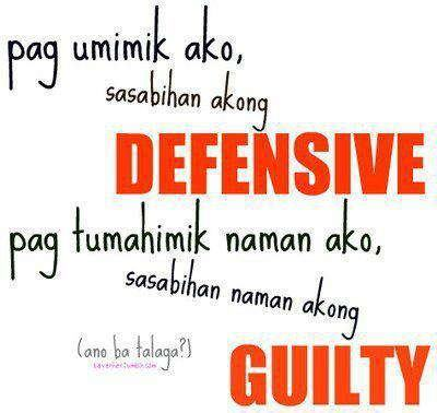 Defensive at Guilty