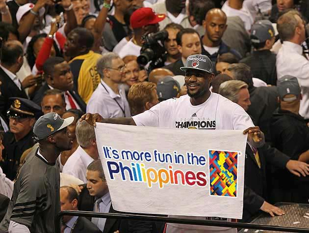 LeBron James:ore Fun In The Philippines