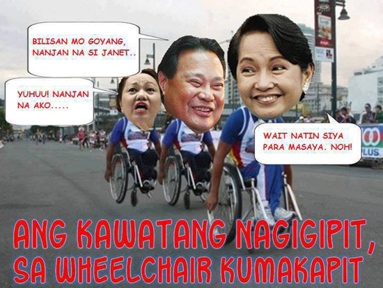 Kawatan on Wheelchair