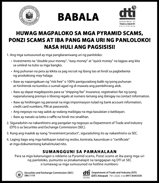 manila dating scams Beware underage girl and bar bill padding scams in angeles city the calesa carriage scam in manila is culture and history dating and marriage dayak fashion.