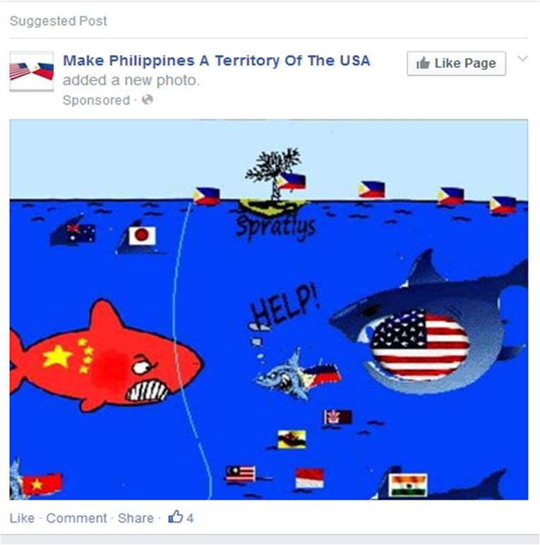 Make the Philippines a territory of the USA